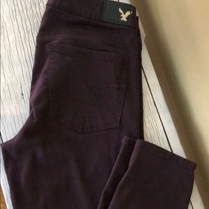 American Eagle Super Stretch Colored pants. Size 8